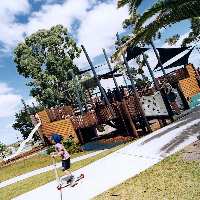Heathcoat playground